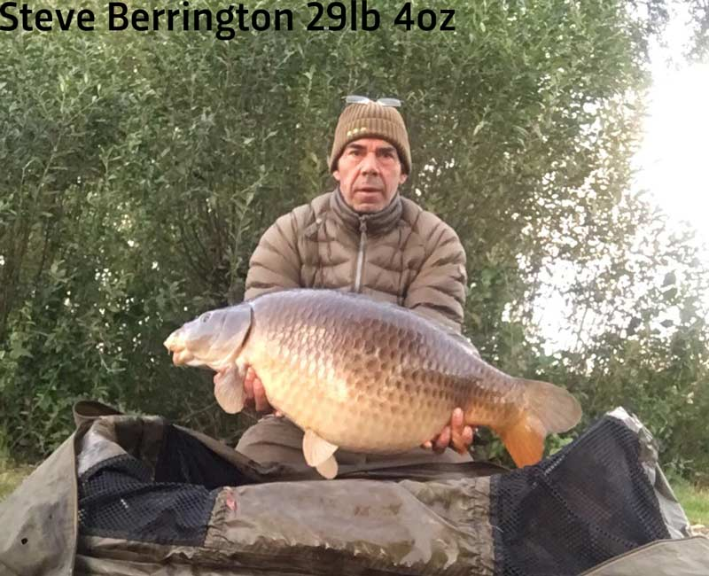 Steve Berrington 29 04 Carp Lake Oct 12 1