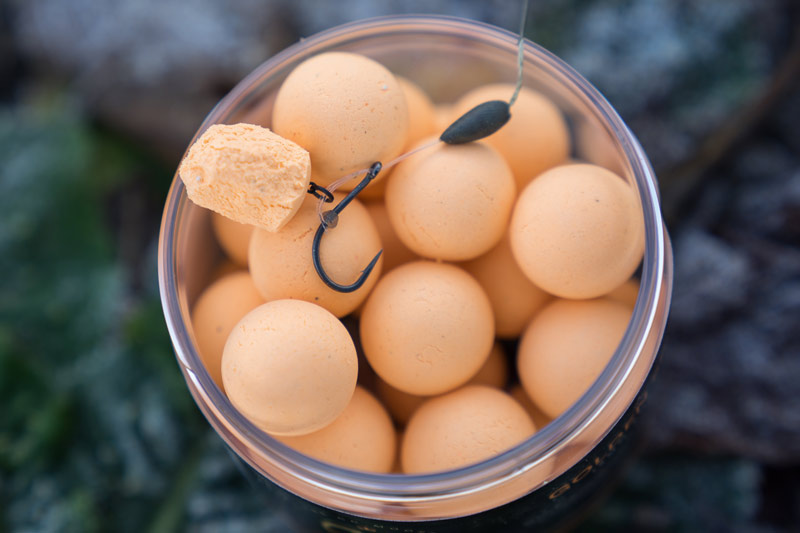 INCREASING LEAKAGE 02 Large baits can easily be made into smaller baits without any skin to lower the signals emmited